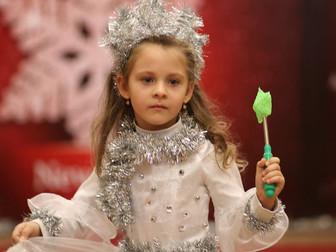 В Кривом Роге прошел грандиозный детский конкурс-дефиле «Fashionable New Year-2018»