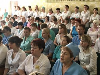 Медработники Кривого Рога получили поздравления от Народного депутата Украины Андрея Гальченко