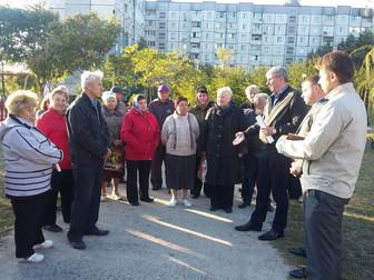 При поддержке Андрея Гальченко будет реконструирован сквер в Кривом Роге