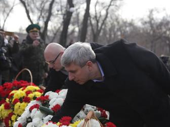 Мы вновь говорим неустанно: пусть горя не будет, пусть не будет войны – Андрей Гальченко