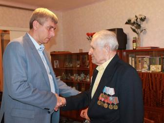 """Андрей Гальченко: """"Именно на примере  ветеранов должно воспитываться наше будущее поколение&quo"""