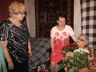 Команда нардепа Андрея Гальченко поздравила с 96-летием ветерана войны