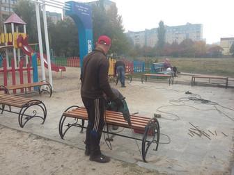При поддержке народного депутата Андрея Гальченко в Кривом Роге появится 250 новых лавочек