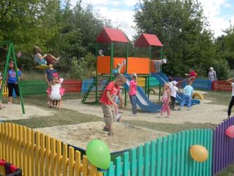"""""""От слов к делу!"""" - для малышей открыта новая детская площадка"""