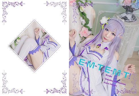"""Hitomi RE: """"E-M-T! E-M-T!"""" Photobook"""