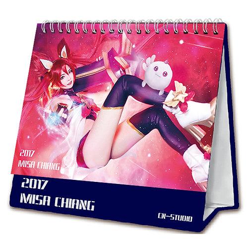 Misa 2017 Desk Calendar