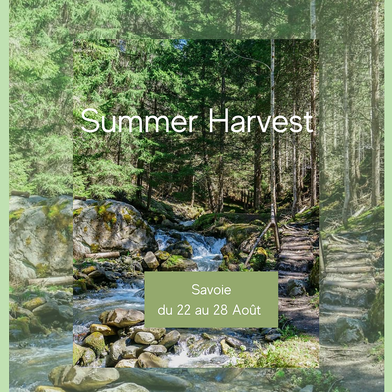 Summer Harvest - Savoie