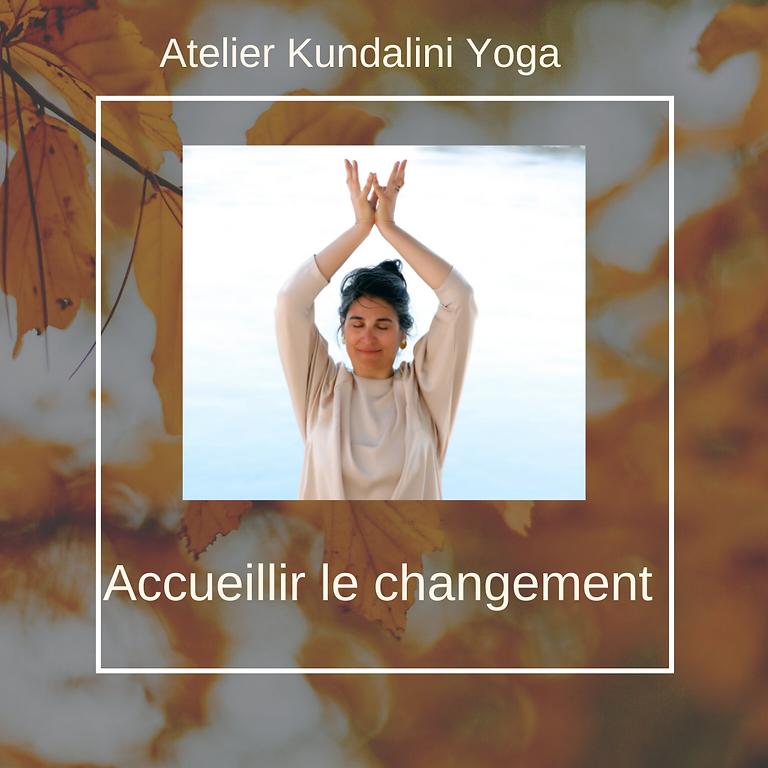 Atelier Kundalini - Accueillir le changement