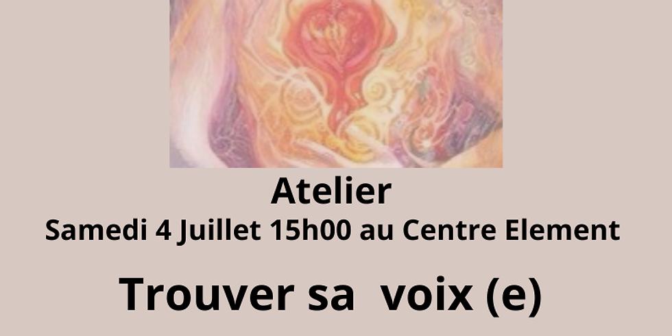 Atelier Trouver sa Voix(e)