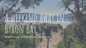 A weekend away in Byron Bay