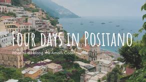 Four days in Positano