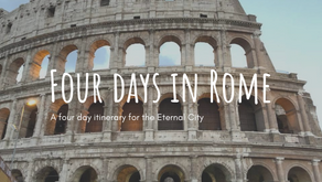 Four day Rome itinerary