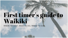 First timers guide to Waikiki
