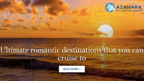 Ultimate Romantic Destinations that you can cruise to
