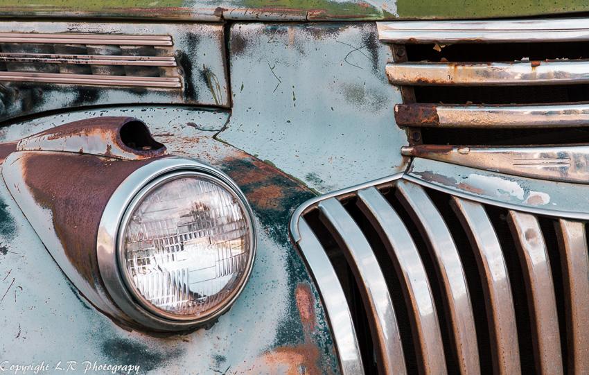 Detail, 1947 Chevrolet