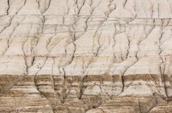 Badlands, Rill Eroded Canyon Slope