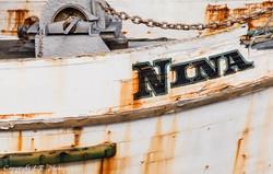 Derelict Fishing Boat, Detail