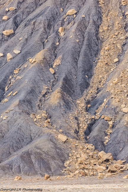 Eroded Mancos Shale, Talus