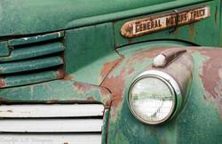 Detail, 1947 GMC