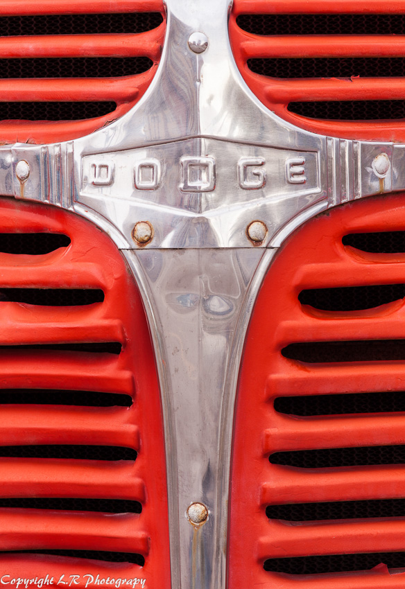 Grill Detail, 1947 Dodge