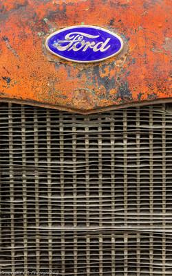 1929 Ford Logo, Radiator