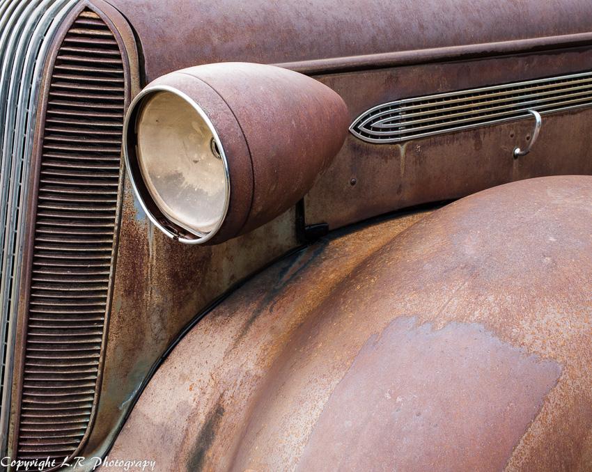Detail, 1936 Pontiac