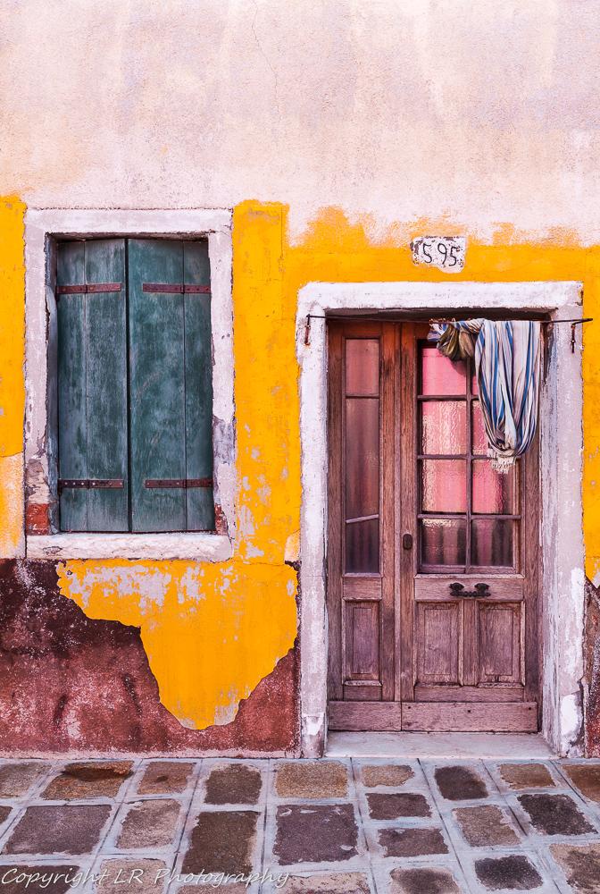 Shuttered Window & Door