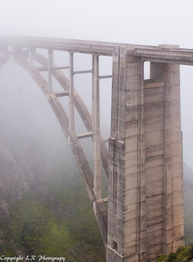 Bixby Bridge, Fog