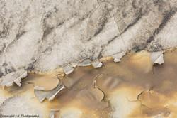Peeling Mud, Badlands Wash