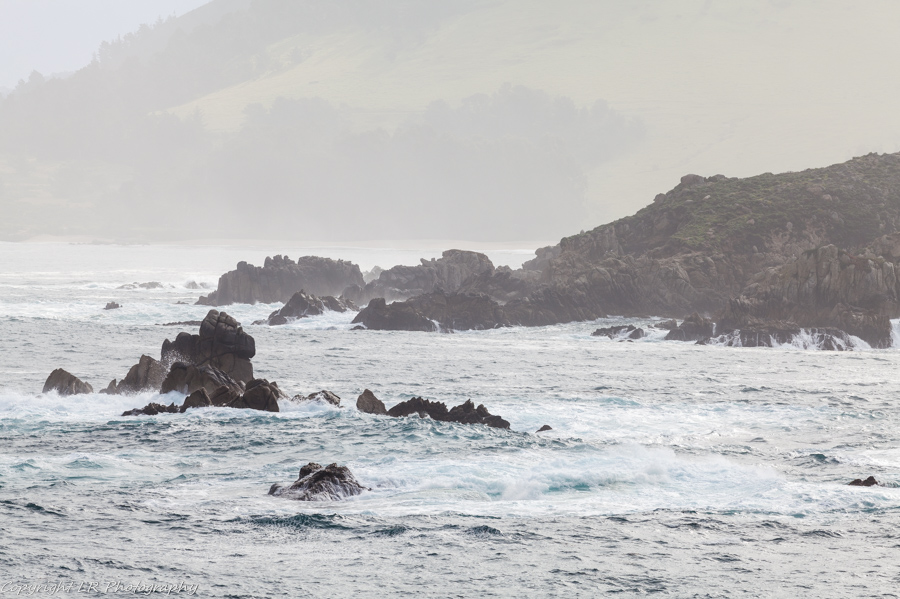 Blue Fish Cove, Granite Point, Mist