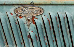 Detail, 1935 Ford