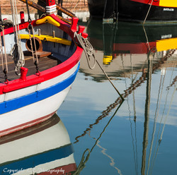 Fishing Boats, Refelections