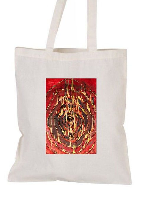 Tote bag cotton -FIRE