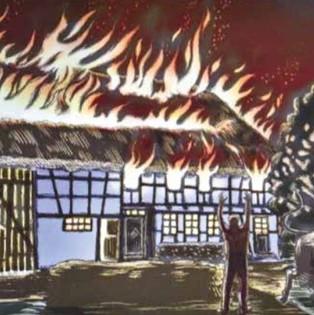 Brandkatastrophe 1820 (Bild Urs Roos)