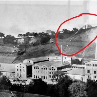 Bahn von Zementfabrik-Ehrendingen n. Niederweningen1898