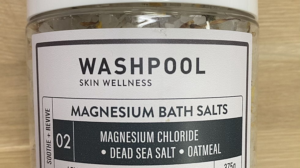 MAGNESIUM BATH SALTS 02 - SOOTHE + REVIVE