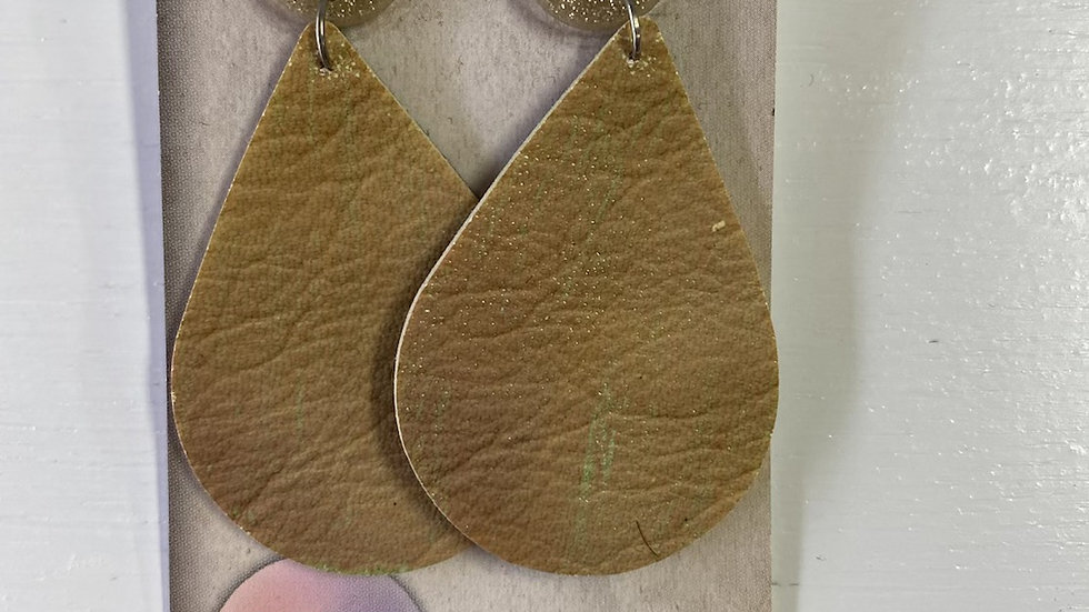 DANGLES LEATHER - NATURAL #244