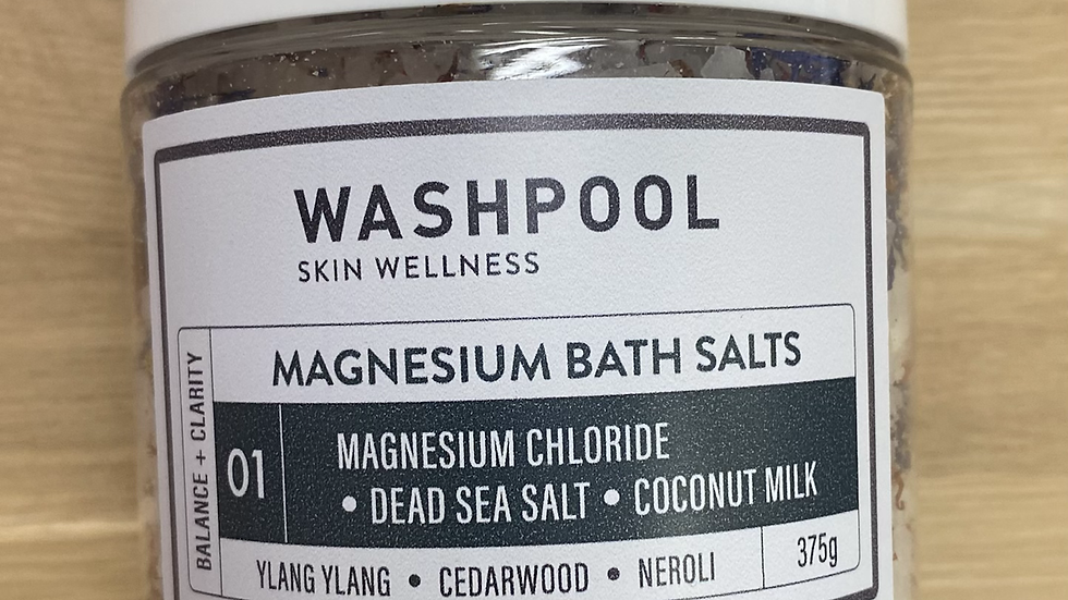 MAGNESIUM BATH SALTS 01 - BALANCE + CLARITY