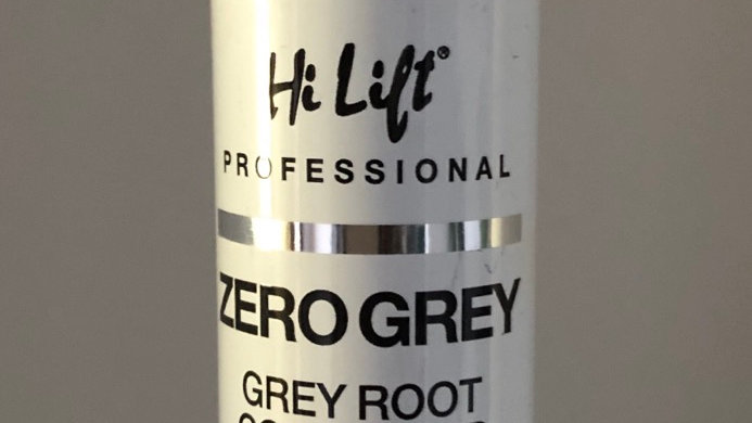 Hi Lift - Medium to Dark Brown Coloured Spray - grey root concealer