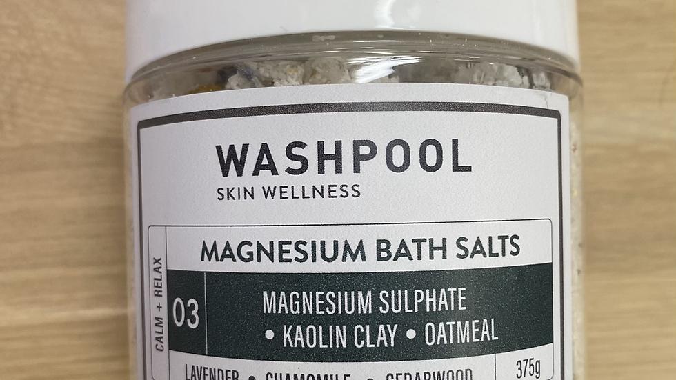 MAGNESIUM BATH SALTS 03 - CALM + RELAX