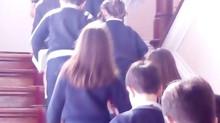 No dia 19 de abril, os alunos do 3º ano celebraram a Festa do Perdão onde receberam o sacramento da