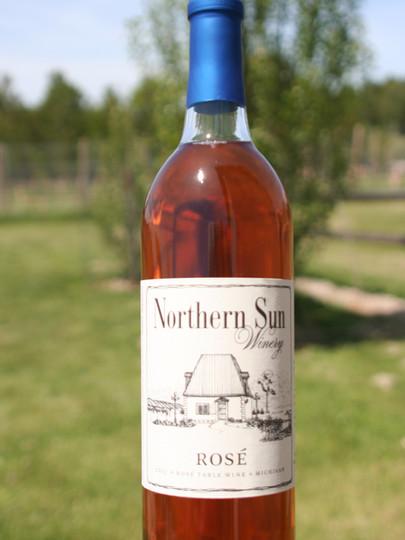 Northern Sun Winery Rose Wine