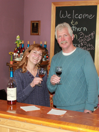 Northern Sun Winery owners Susan and David Anthony.