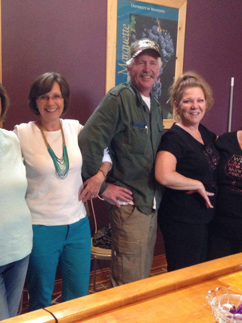 Fun for everyone at Northern Sun Winery tasting room.