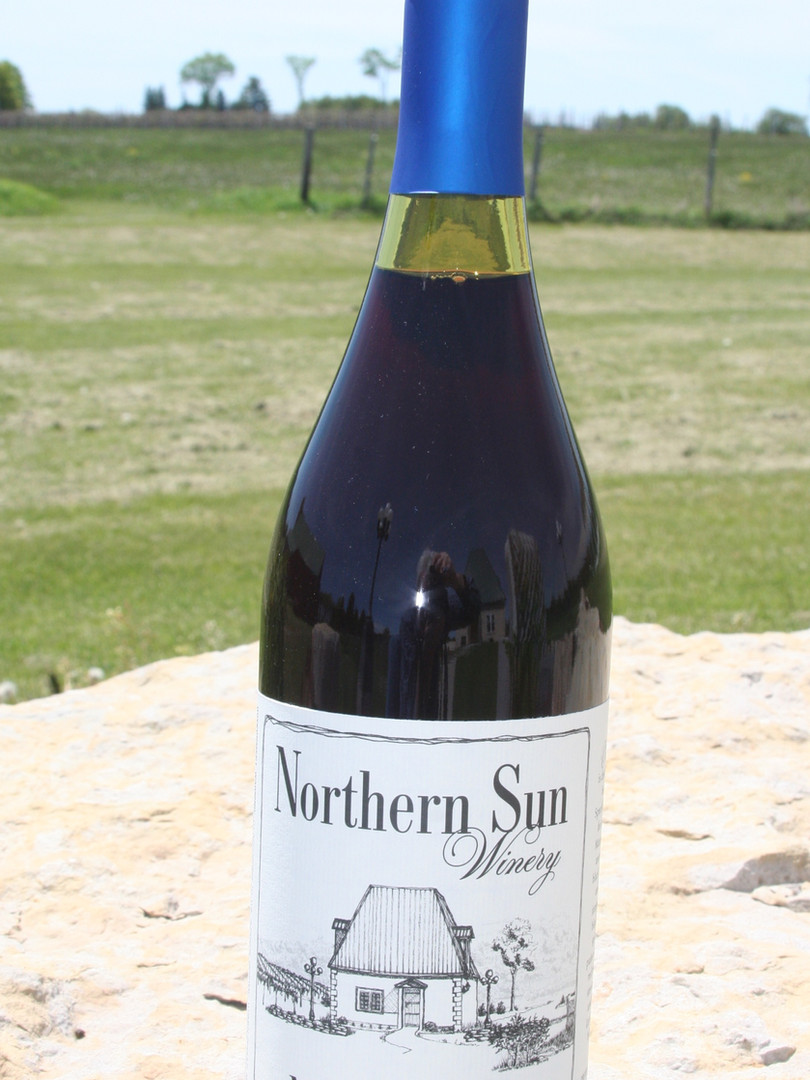 Northern Sun Winery Marquette Wine