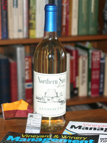 Northern Sun Winery featured in Vineyard & Winery Management magazine.