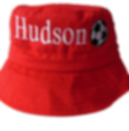 Red bucket hat clear background.png
