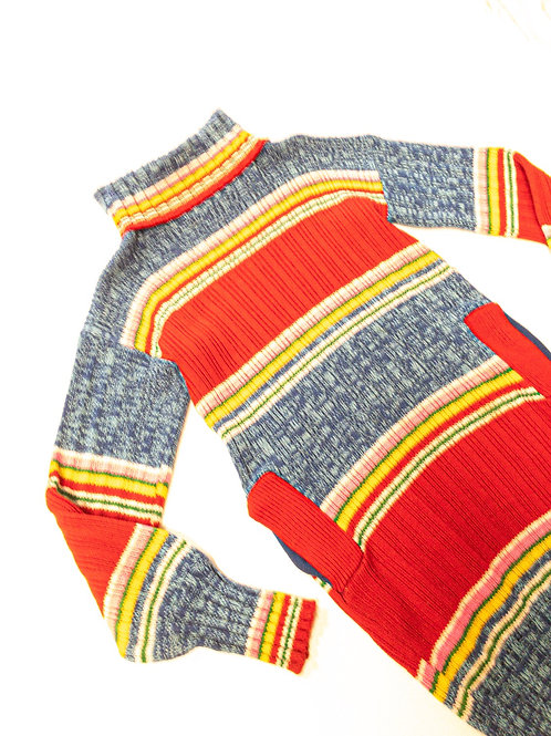 Funky 70s Sweater Dress