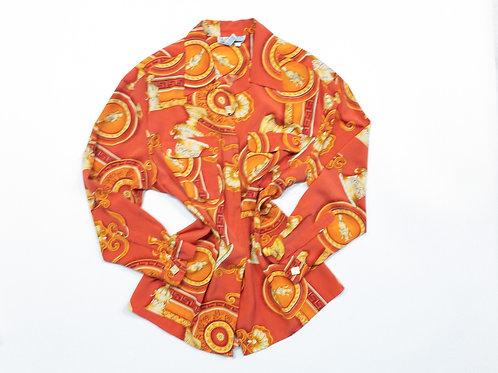 Groovy Tangerine Top