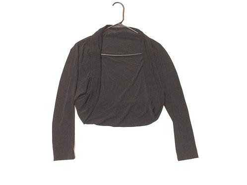 Casual Crop Bolero Jacket